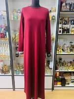 Теплое мусульманское платье Миседо