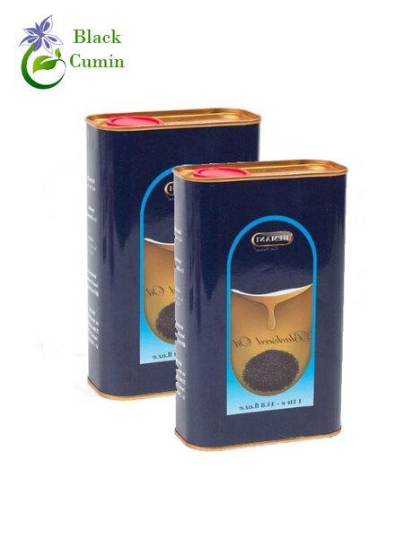 Масло чёрного тмина HEMANI (Хемани) 1000 мл, жестяная банка