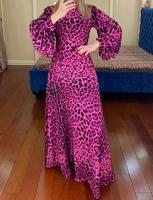 Модное мусульманское платье Сафари