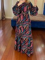 Стильное мусульманское платье Элен