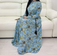 Штапельные мусульманское платье Азиза