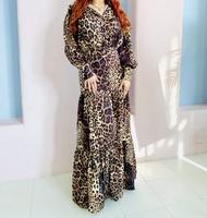 Нарядное мусульманское платье Леопард