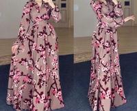 Мусульманское платье из крепа Махра