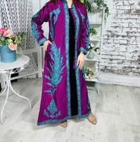 Мусульманский кафтан с вышивкой Мухиб
