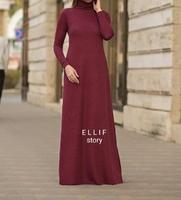 Мусульманское трикотажное платье Радмила