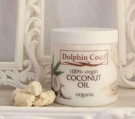 Кокосовое масло Dolphin Coco, 500 мл банка