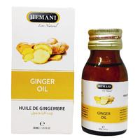 Эфирное масло имбиря Hemani Ginger oil, 30 мл, стекло