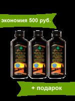 """Масло черного тмина """"Речь посланников"""" комплект 3 шт. по 500 мл, экономия 500 руб."""
