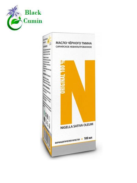 Масло черного тмина сирийское первого холодного отжима нефильтрованное Nigella Sativa Oleum в стекле, 100 мл