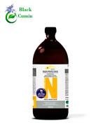 Масло черного тмина сирийское нефильтрованное Nigella Sativa Oleum в стекле, 1000 мл